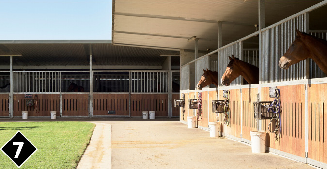 Eagle Farm Infield Stabling Complex | Brisbane Racing Club