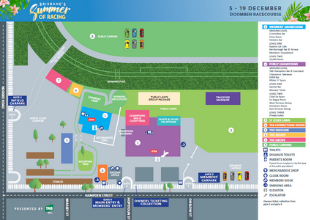 Summer Doomben Map | Brisbane Racing Club