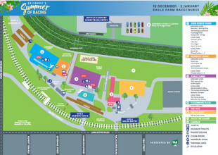 Summer Eagle Farm Map | Brisbane Racing Club