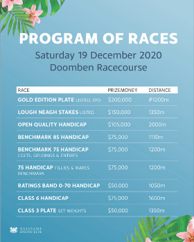 Summer Fun Race Program | Brisbane Racing Club