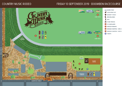 Country Music Rodeo | Brisbane Racing Club