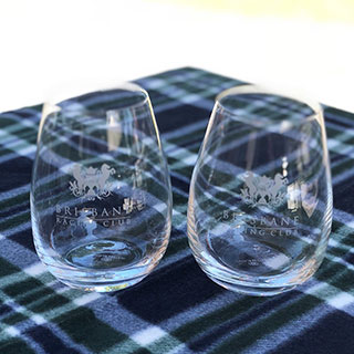 Brisbane Racing Club Merchandise Glasses