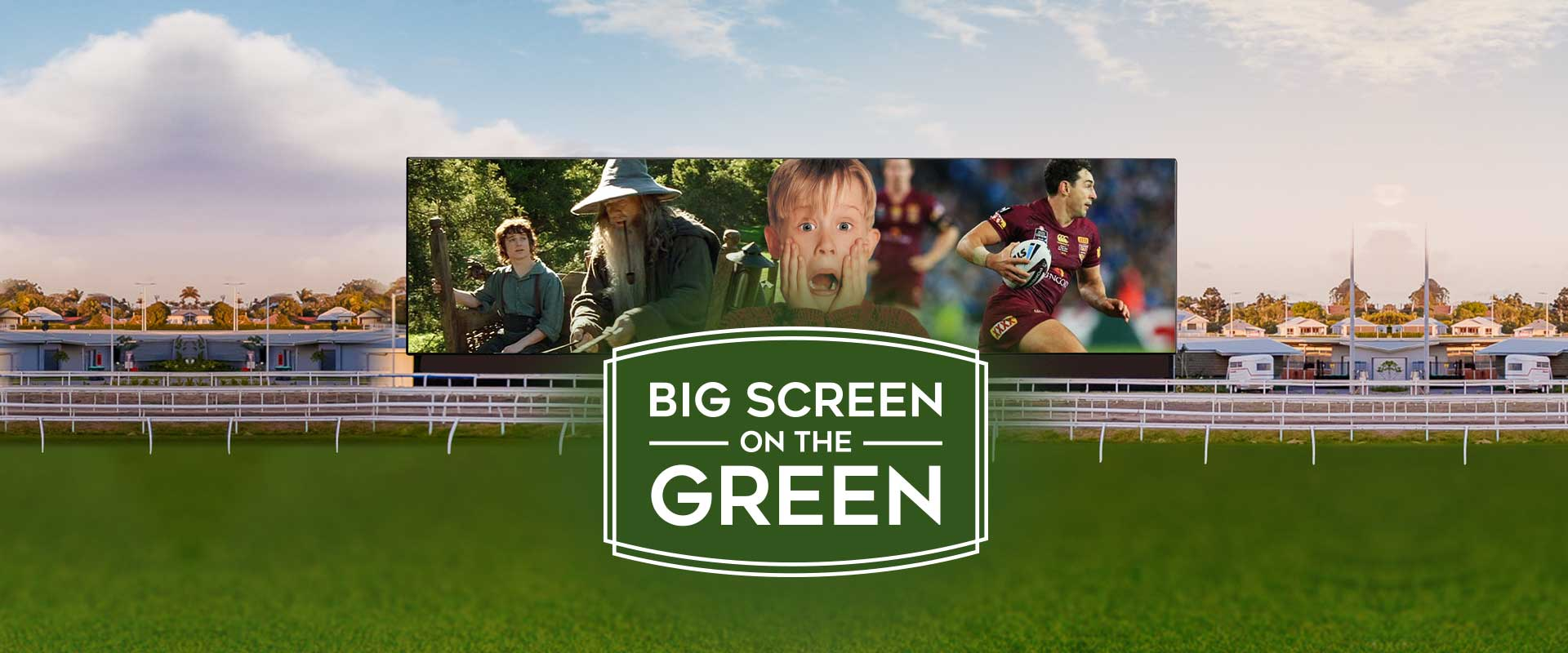Big Screen On The Green Background_Page Banner