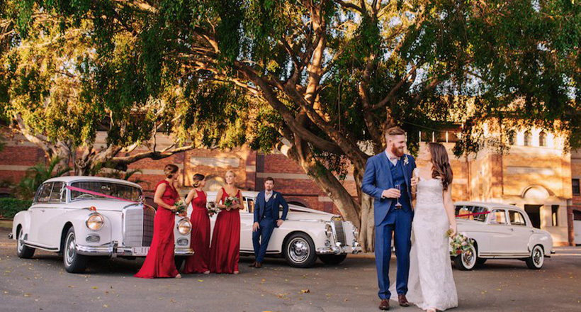 Brisbane Racing Club Wedding Image