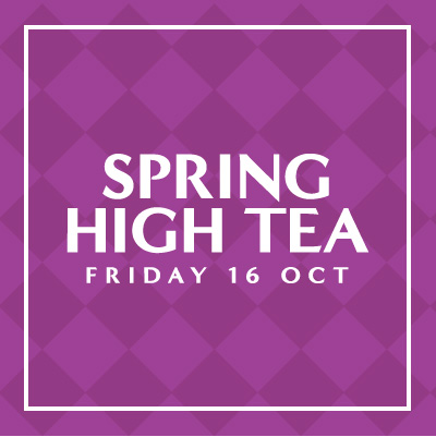 Spring High Tea | Brisbane Racing Club