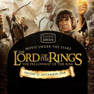 Big Screen on the Green Lord of the Rings Event Thumbnail