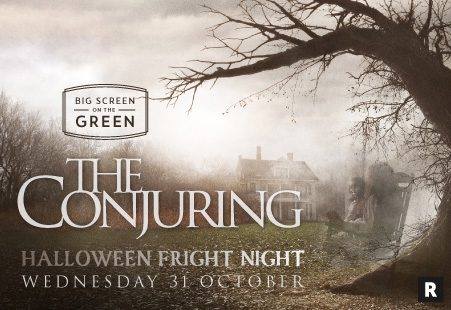 Halloween Fright Night - The Conjuring Movie on the Big Screen