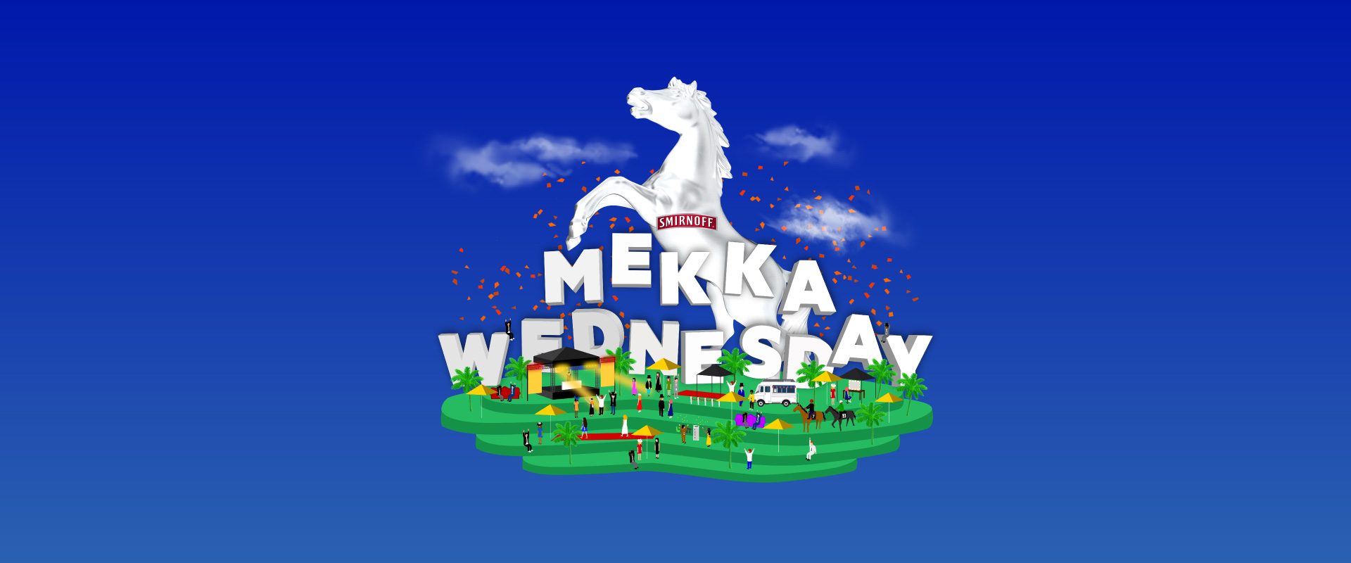 Brisbane's biggest party - Mekka Wednesday. Enjoy the races, the festival vibe and some of Australia's most renowned DJs and headliners.