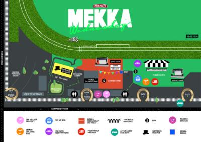 Mekka Event Map | Brisbane Racing Club