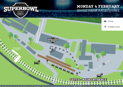 Superbowl at Big Screen On The Green | Brisbane Racing Club
