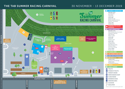 Summer Carnival Doomben Event Map thumbnail