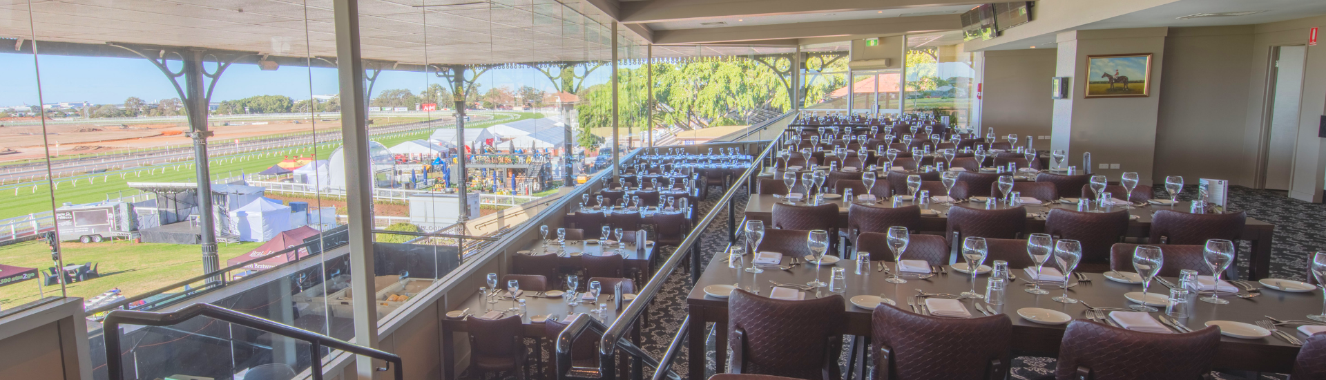 Moreton Dining Room at Eagle Farm Racecourse | Brisbane Racing Club