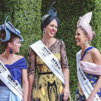 Myer Fashions On The Field at Doomben Racecourse