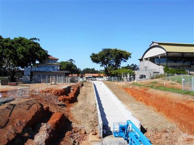 Renovation works at Eagle Farm Racecourse well underway