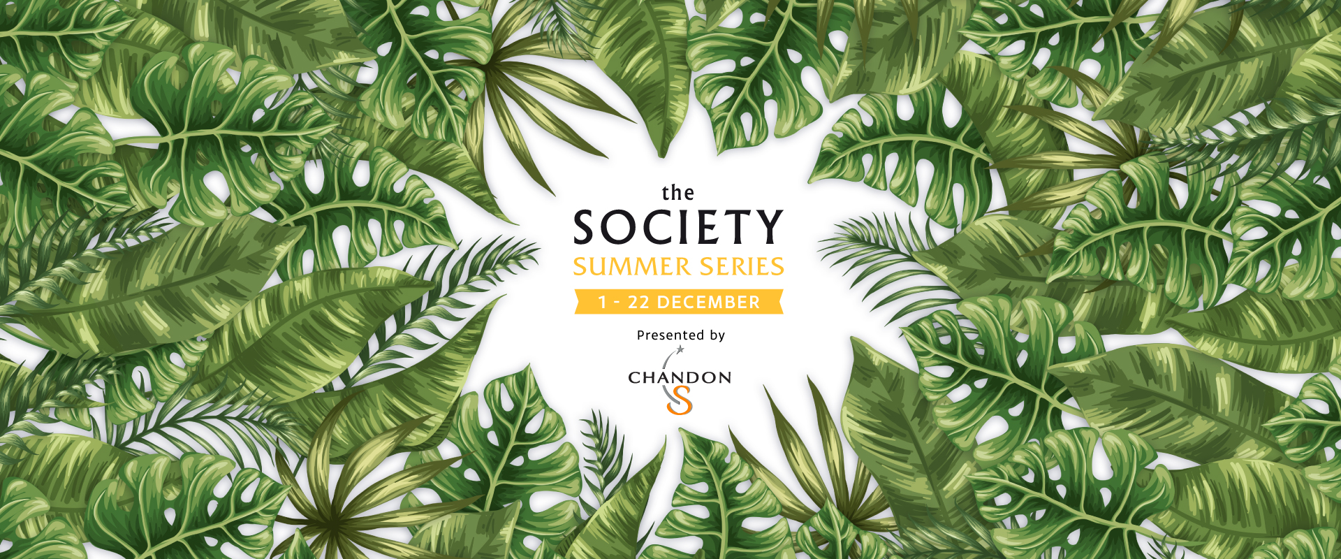 Rooftop Bar - The Society Series Summer Edition