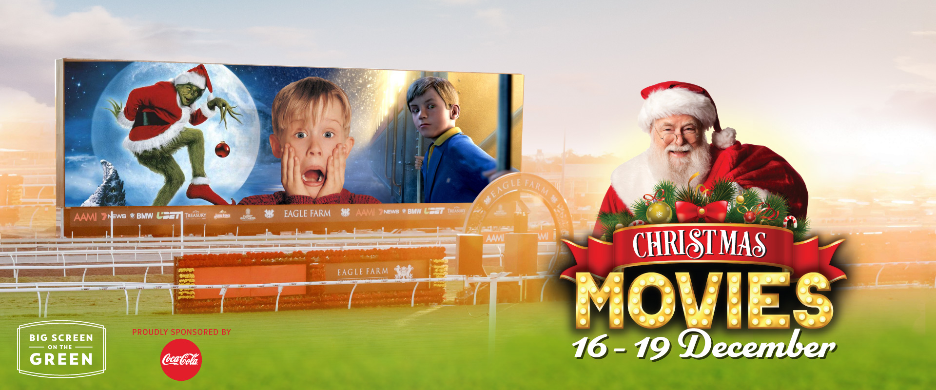 Christmas Movies on the Big Screen on the Green