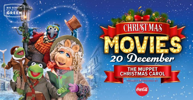 The Muppets Christmas Carol Christmas Movie on the Big Screen on the Green
