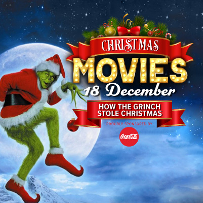 The Grinch at Big Screen On The Green | Brisbane Racing Club