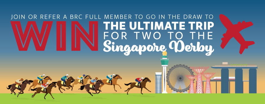 Win a Trip to the Singapore Derby | Brisbane Racing Club