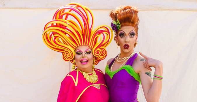 Drag Queens at Girls Day Out | Brisbane Racing Club