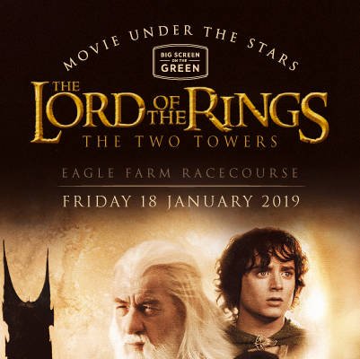 Lord Of The Rings - The Two Towers | Big Screen On The Green at Brisbane Racing Club