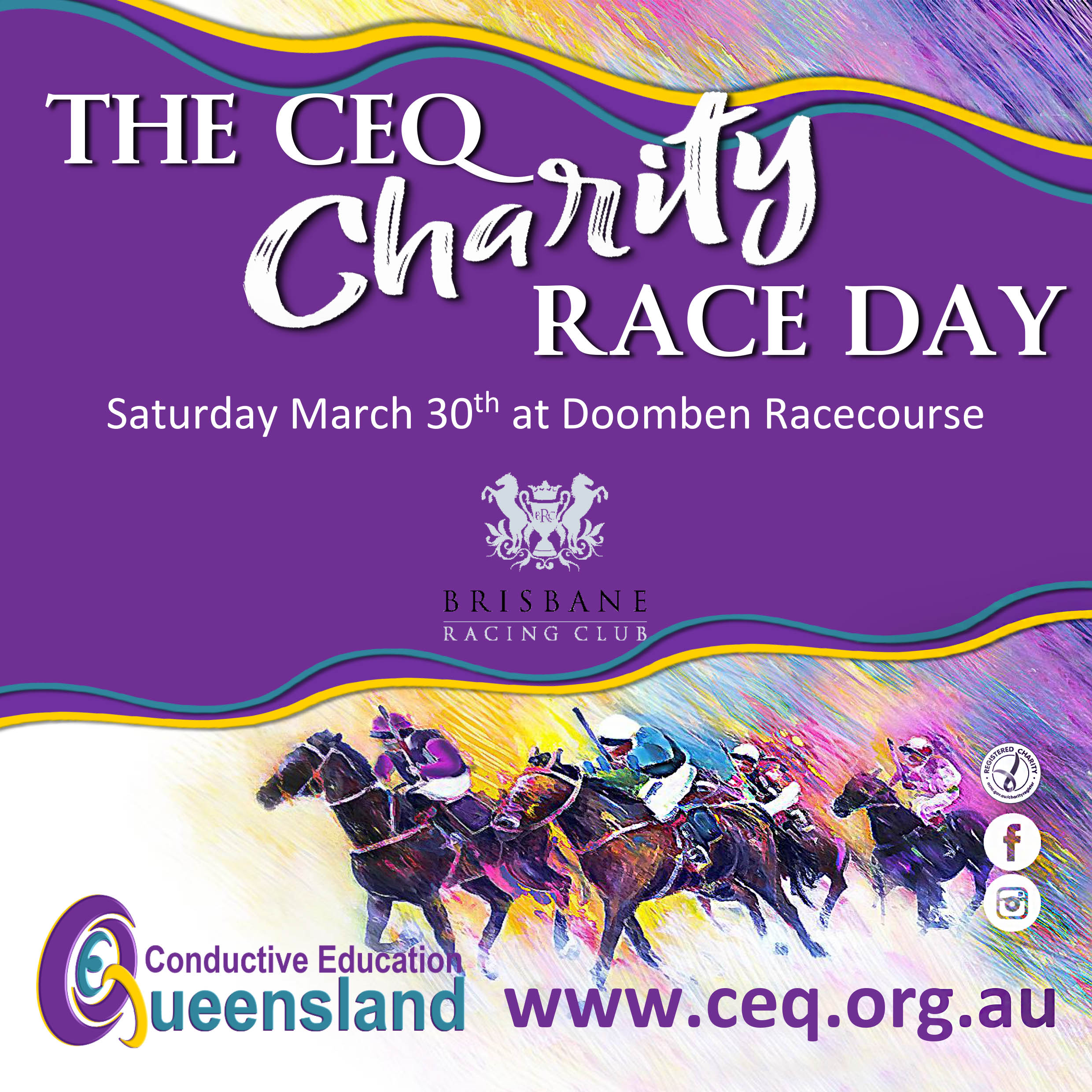 Conductive Education Raceday | Brisbane Racing Club