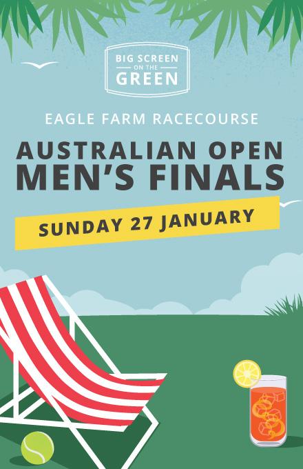 Australian Open at Big Screen On The Green | Brisbane Racing Club
