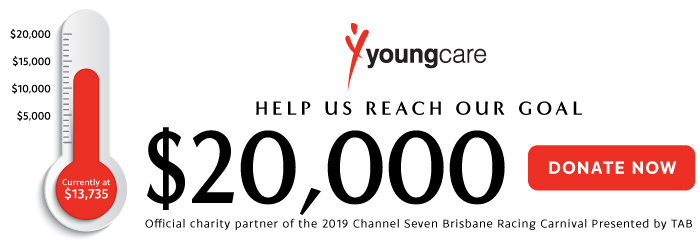 Youngcare Fund Raising Thermometer | Brisbane Racing Club