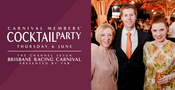 Channel Seven Brisbane Racing Carnival Members Cocktail Party