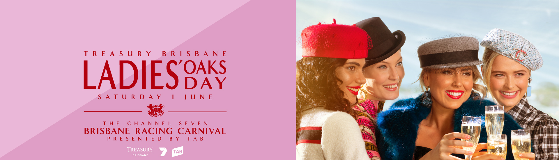 Ladies Oaks Day | Channel Seven Brisbane Racing Carnival | Brisbane Racing Club