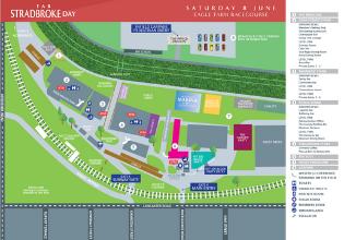 Stradbroke Day Event Map | Brisbane Racing Carnival