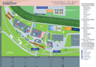 KIRIN Stakes Day Event Map | Brisbane Racing Carnival