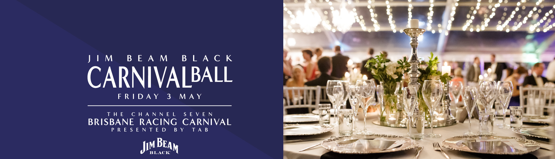 Channel Seven Brisbane Racing Carnival Ball Banner