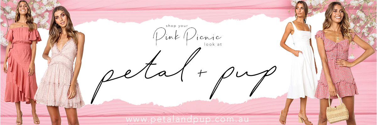 Shop the Pink Picnic edit with Petal and Pup | Brisbane Racing Club