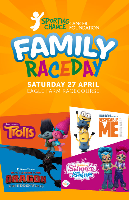 Sporting Chance Cancer Foundation Family Raceday | Brisbane Racing Club