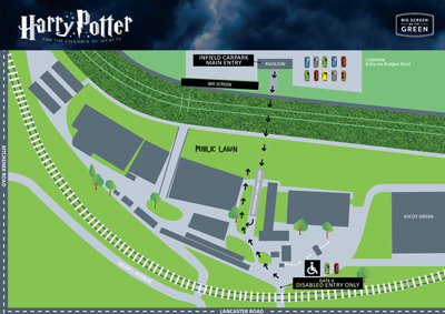 Harry Potter Event Map | Brisbane Racing Club