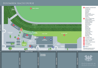 Doomben Map | Brisbane Racing Club
