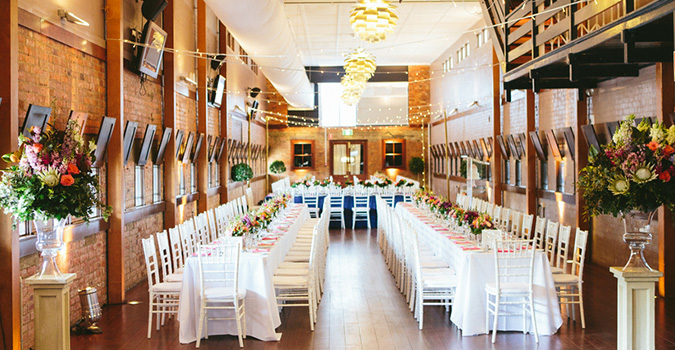 The Tote Room at Eagle Farm Racecourse is home to Brisbane's most stunning wedding ceremony and reception venue