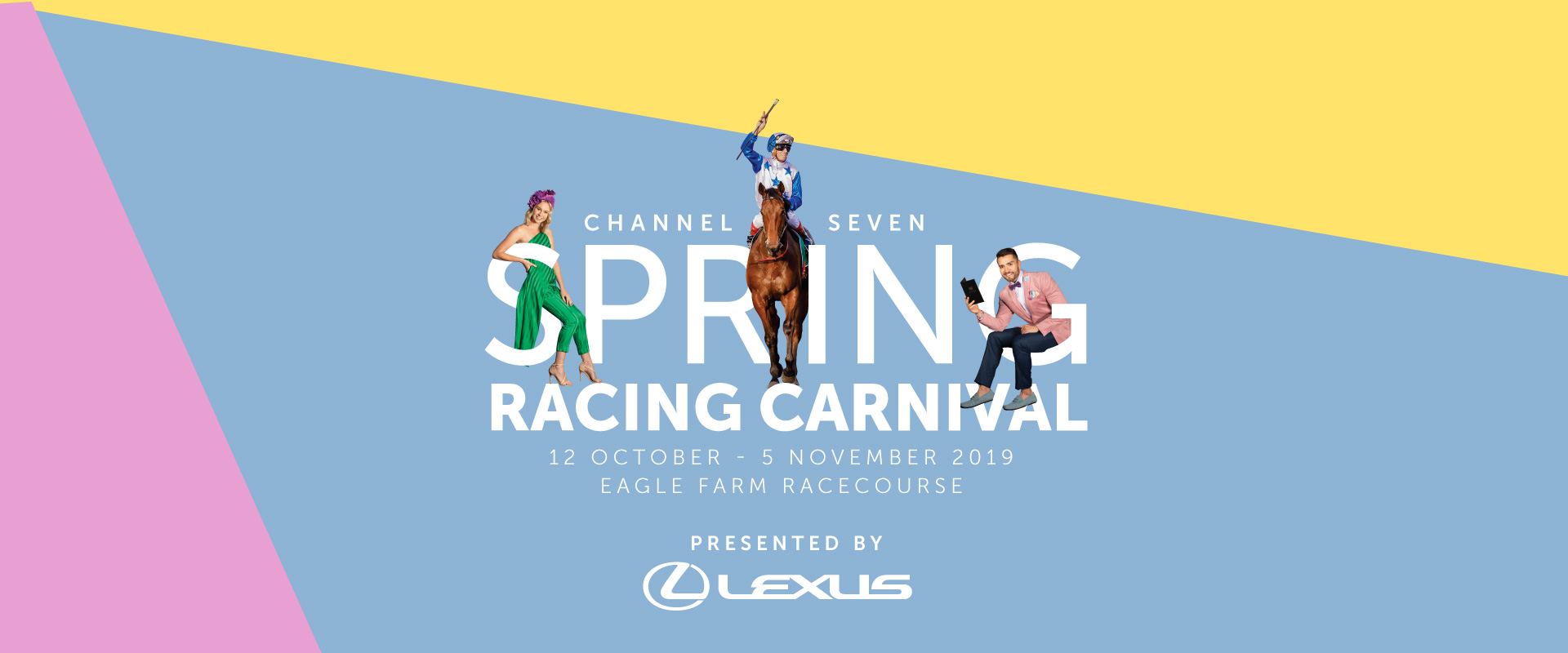 Spring Racing Carnival Page Banner