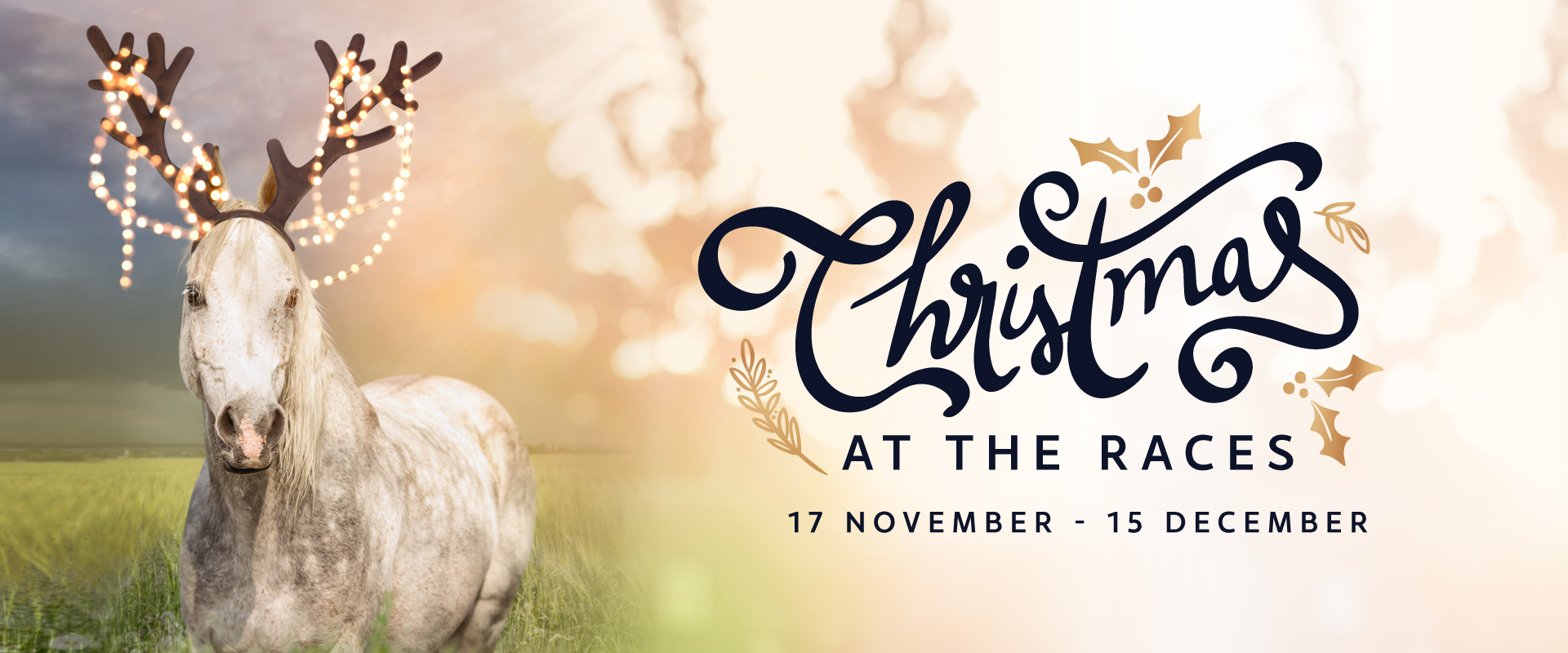Celebrate the end of the year with Christmas at the Races