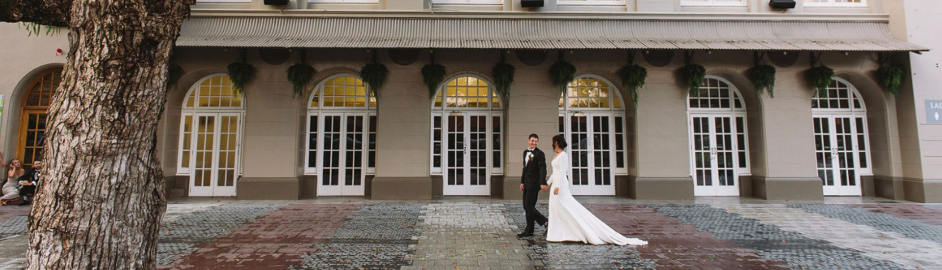 Heritage-listed wedding venues at Eagle Farm Racecourse, Brisbane Racing Club